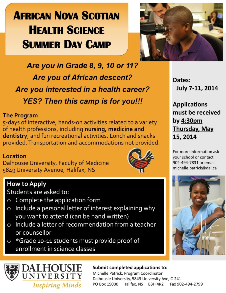 ANS Health Science 2014 Summer Day Camp
