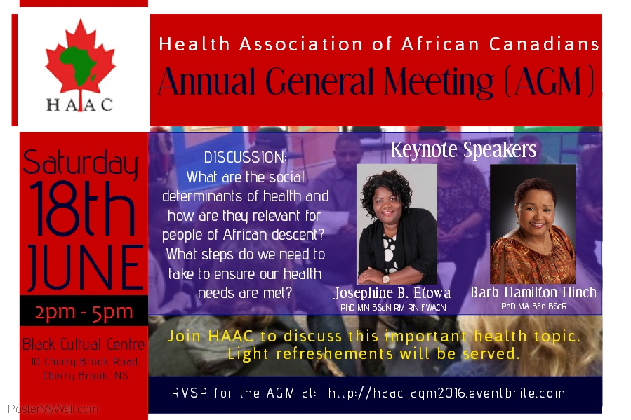 HAAC AGM POSTER